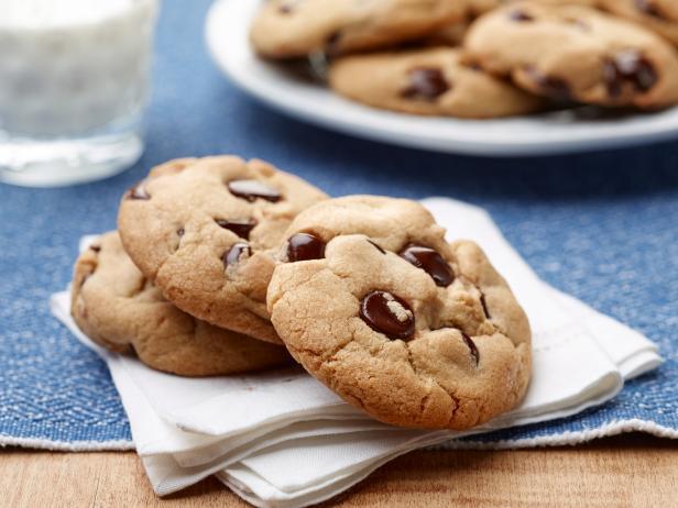 Фото Классическое печенье с шоколадной крошкой: 5 видов
