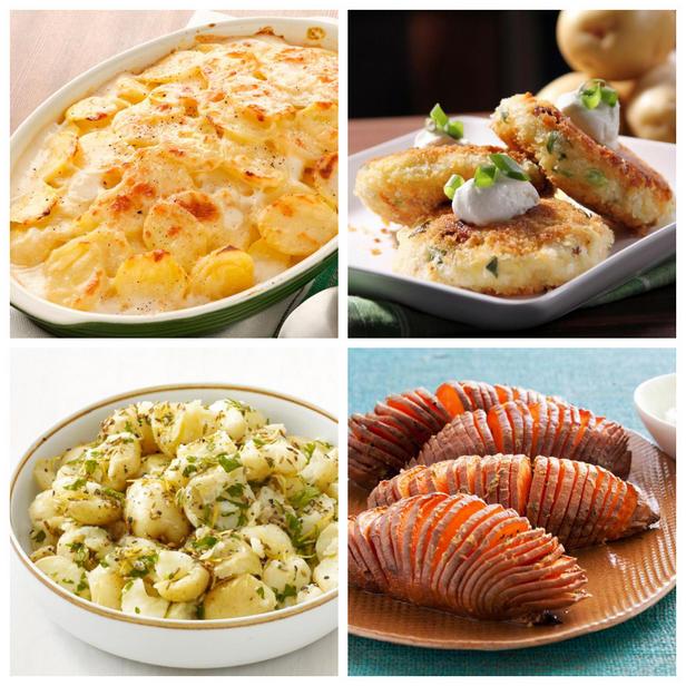 Фото Полезные гарниры из картофеля, 14 рецептов