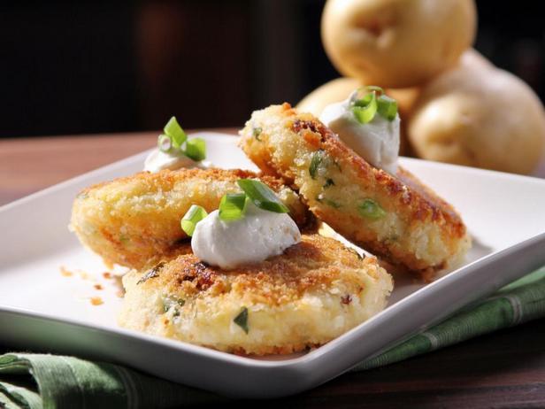 Биточки из картофеля