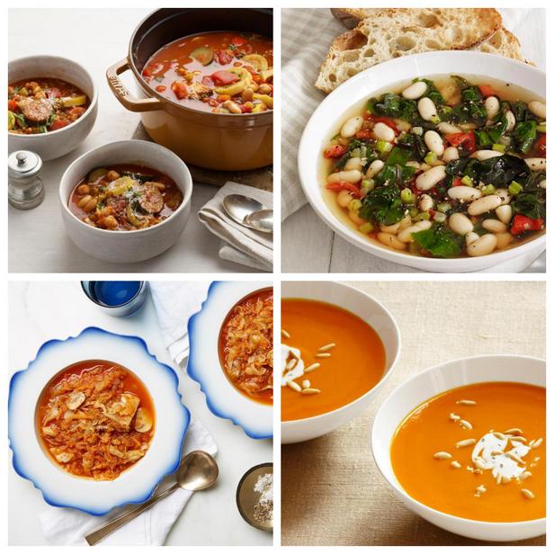 Фото Рецепты полезных и здоровых супов