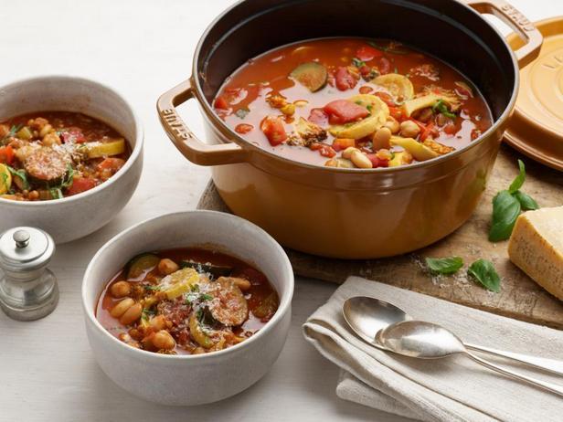 Суп из фасоли и бобовых