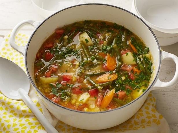 № 10: Вегетарианский суп со стручковой фасолью