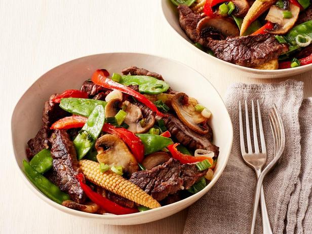 № 22: Говядина с овощами стир-фрай