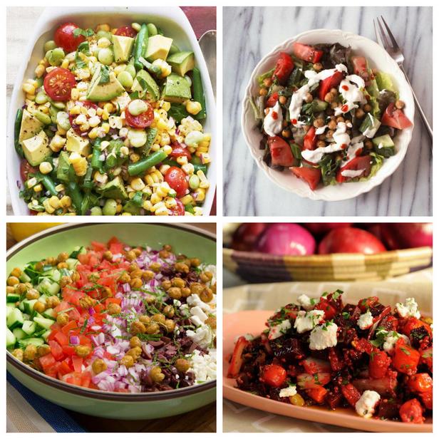 Фото Лучшие рецепты сытных салатов без латука