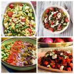 Лучшие рецепты сытных салатов без латука