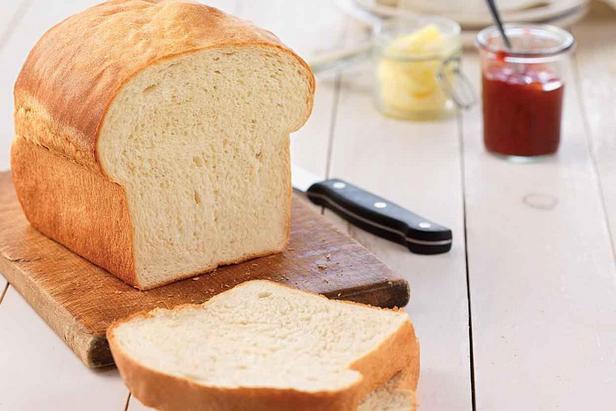 Фото Белый хлеб для сэндвичей