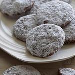 Печенье из шоколадно-ореховой пасты