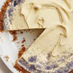 Лавандовый торт-мороженое