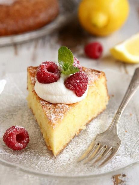 Фото Лимонный торт на оливковом масле