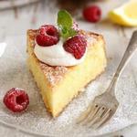 Лимонный торт на оливковом масле