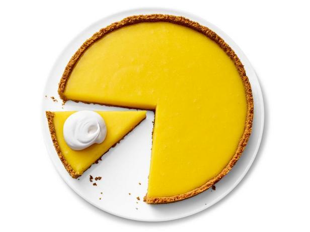 Фото Простой лимонный тарт