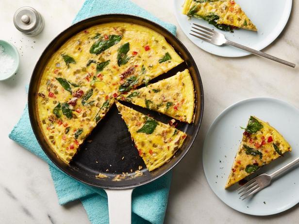 Фритата с овощами к завтраку (диета Whole30)
