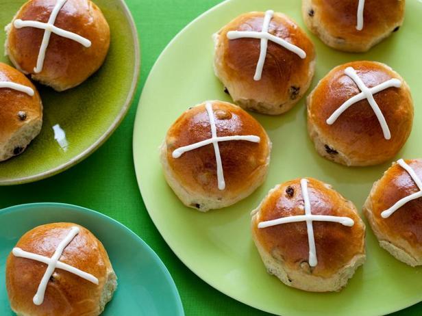Фото Крестовые булочки на пасху