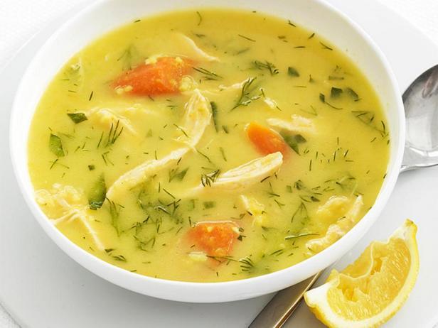 Куриный суп-пюре с рисом и приправой карри
