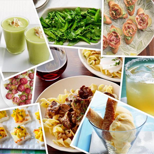 Фото Весенние рецепты для праздничного стола