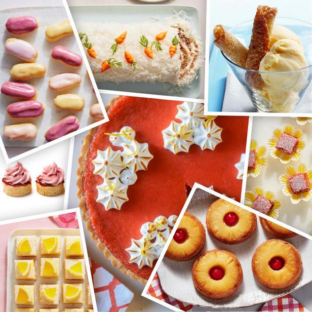 Фото Весенние десерты на праздничный стол