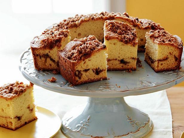 Сметанный кофейный пирог