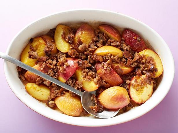 Полезный персиковый десерт