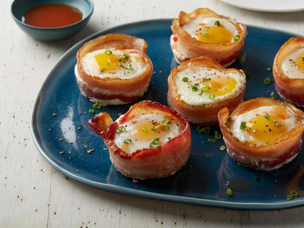 Маффины из бекона и яйца