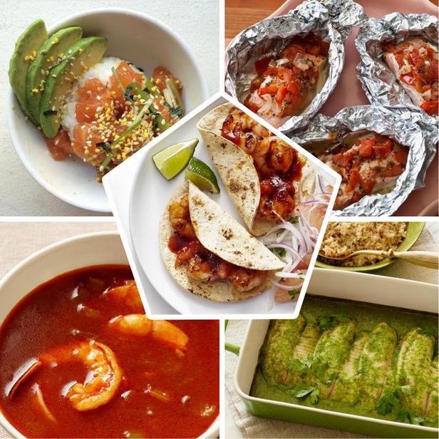 Фото Полезные блюда с рыбой и морепродуктами