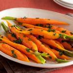Морковь в медовой глазури