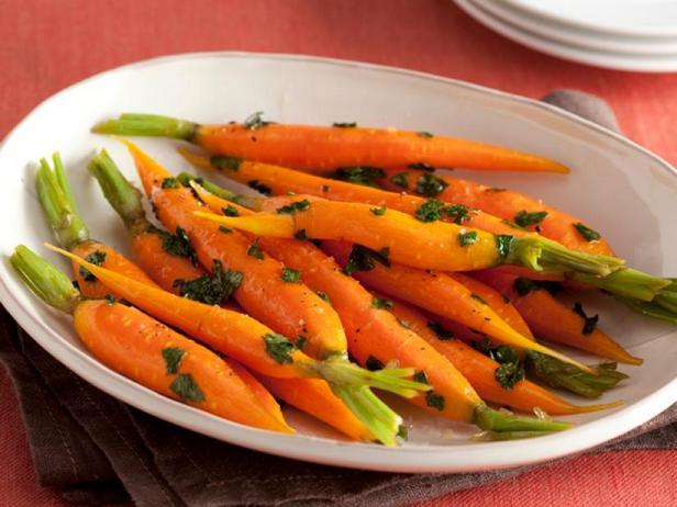 Фото Морковь в медовой глазури