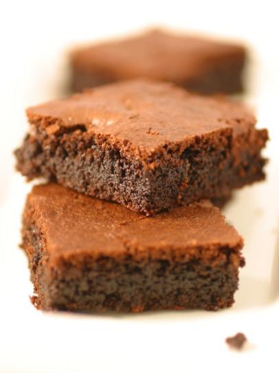 Фото Полезные пирожные Брауни