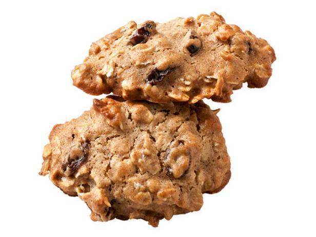 Фото Медовое овсяное печенье с изюмом