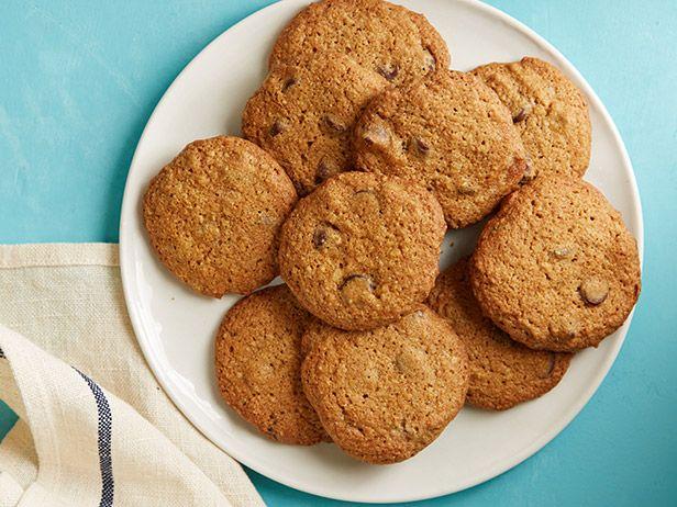 Фото Цельнозерновое печенье с кусочками шоколада