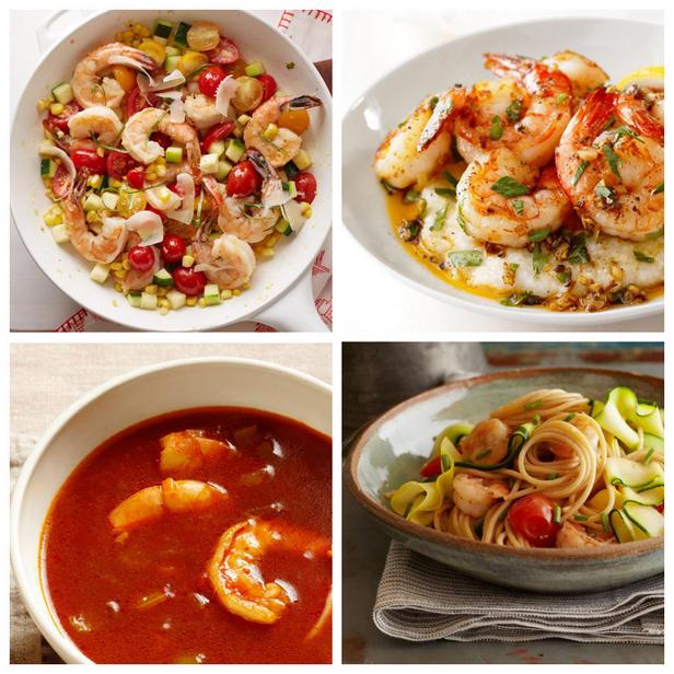 Фото Рецепты здоровых блюд с креветками