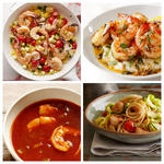 Рецепты здоровых блюд с креветками