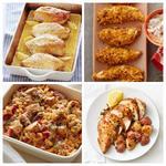 Здоровые блюда с запеченной курицей