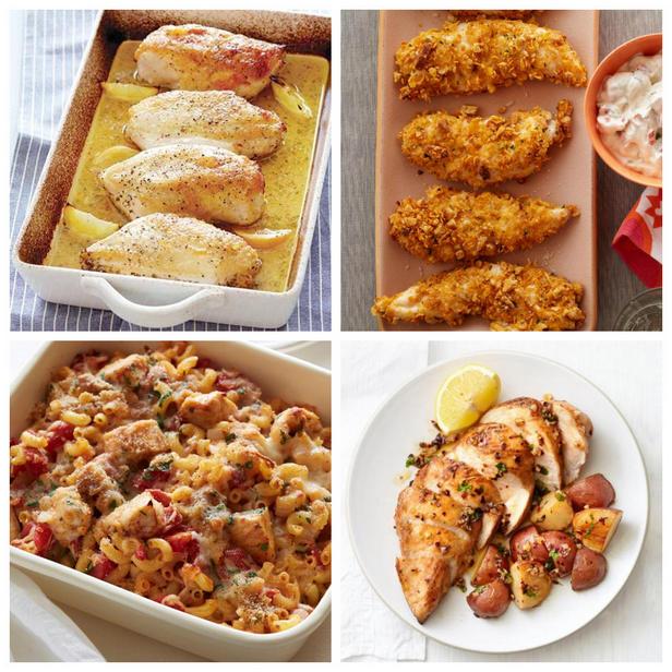 Фото Здоровые блюда с запеченной курицей