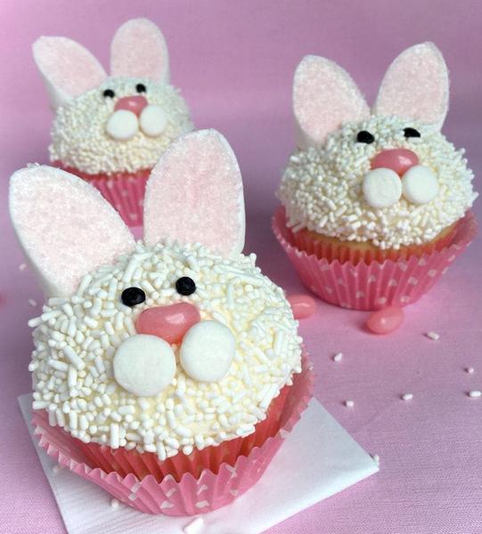 Капкейк «Пасхальный кролик»