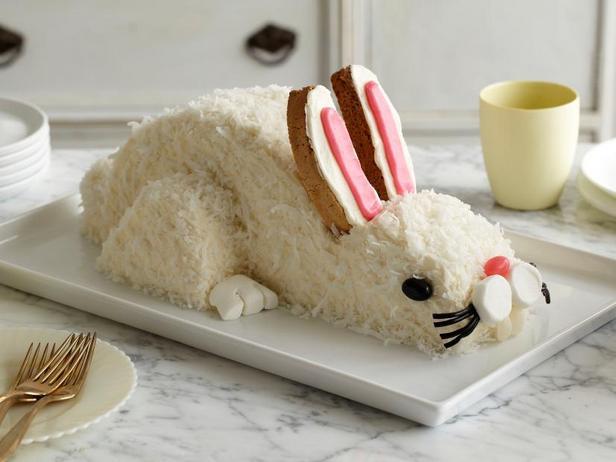 Фото Торт «Пасхальный кролик»