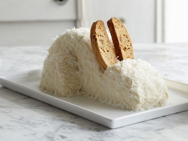 Сделайте уши из печенья бискотти