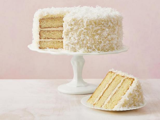 Фото Кокосовый торт с творожным кремом