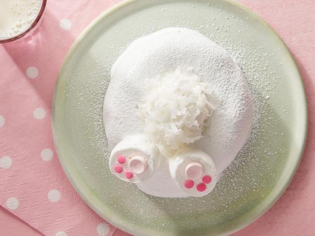 Пончик «Кроличий хвостик»
