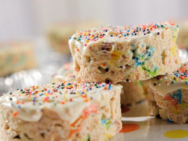 Хрустящий десерт с маршмеллоу