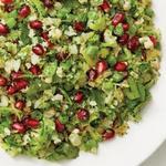 Салат табуле с овощным рисом