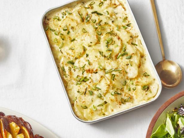 Весенний гратен из картофеля