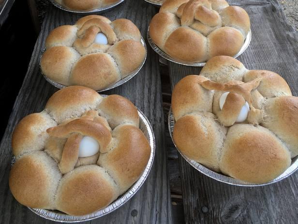 Фото Португальский Пасхальный хлеб