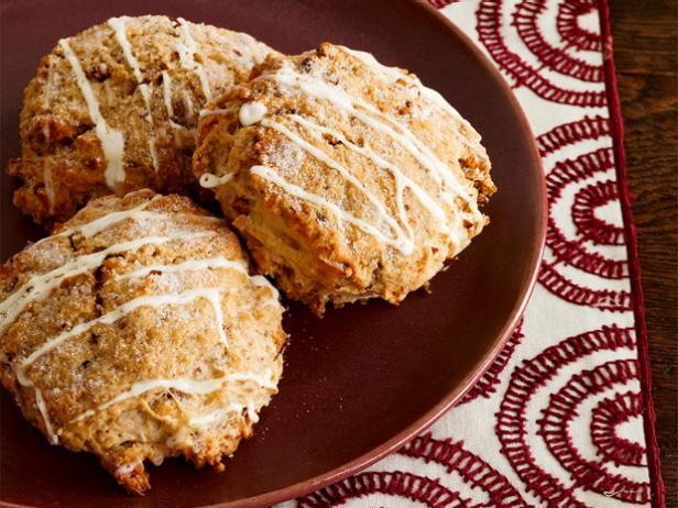 Фото Кокосовые сконы в кокосовой глазури