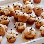Мини-маффины с кусочками шоколада