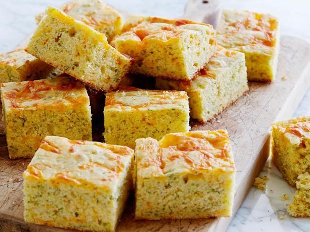 Фото Кукурузный хлеб с сыром и укропом