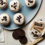Маффины из мороженого и шоколадного печенья