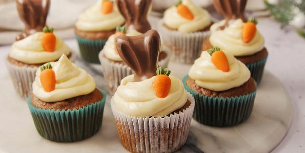 Фото Пряные морковные мини-маффины