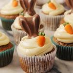 Пряные морковные мини-маффины