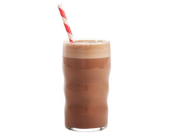 Фото Газированный молочный коктейль с Нутеллой