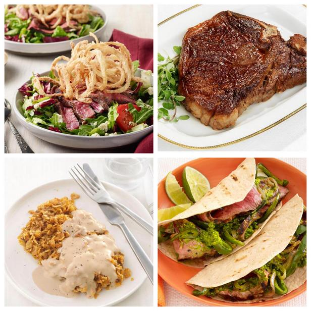 Фото Простые рецепты ужина со стейком